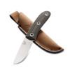 Benchmade HUNT 15400 OD Green/Black Pardue Hunter Micarta Fixed Blade Knife, CPM-S30V Satin Blade