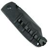 Boker Kalashnikov Wharncliffe Auto Knife, AUS-8 Black Blade Clip View