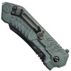 Smith & Wesson Military & Police MAGIC Assist Black Combo Scoop Back Tanto Blade, SWMP2BS