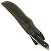 Boker Arbolito 02BA508H Stag Horn Fixed Blade Knife, Satin Blade