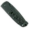 Boker Kalashnikov Tanto Auto Knife, AUS-8 Black Blade Clip View