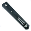 Boker Plus Carbon Fiber Kwaiken Flipper Knife, VG10 Blade, 01BO298 Clip View