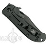 Kershaw Emerson CQC-2K Knife, Black Modified Clip Point Blade