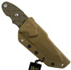 TOPS Knives Canvas Micarta C.A.T. Knife, Coyote Tan Blade