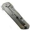 Boker Plus 01BO768 Kihon Marbled Carbon Fiber/Stainless Steel Flipper Knife, D2 Satin Blade