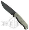 Ontario TAK 1 Fixed Blade Knife, Plain Edge, Micarta Handle