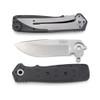 CRKT K250KXP Homefront EDC Flipper Knife, Stonewash Blade