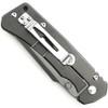 Schrade 104LS Large Framelock Knife, G10 Handle, Black Combo Blade