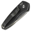 Pro-Tech 2905 Sprint Cali-Legal Auto Knife, CPM-S35VN Stonewash Blade REAR VIEW