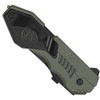 Smith & Wesson Military & Police MAGIC Assisted Knife, Part Serrated Black Blade, Gun Metal Grey Handle, SWMP4LS
