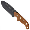 TOPS WSG-4 Tan Wilderness Guide 4.0 Micarta Fixed Blade Knife & Kit, 1095 Carbon Black Blade