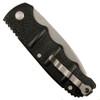 Boker XL Kalashnikov Auto Knife, AUS-8 Bead Blast Combo Blade