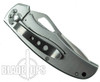 MTech Spider Framelock Knife, Drop Point Combo Blade