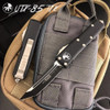 Microtech 233-1 Contoured UTX-85 T/E OTF Auto Knife, Black Blade IG VIEW