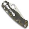 Spyderco C81GPCMO2 Digi Camo Paramilitary 2 Folder Knife, CPM-S30V Satin Blade