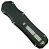 Piranha Excalibur D/E OTF Auto Knife, 154CM Black Combo Blade Clip View