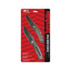 Kershaw Starter Pack, Large & Small Knives, Blackwash, Plain