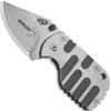 Boker Plus 01BO605 Subcom Titanium Folder Knife, VG-10 Satin Blade