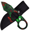 MTech Zombie Tanto Fixed Blade Knife