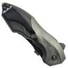 Smith & Wesson Grey MAGIC Spring Assist Clip Point, Black, Plain, SWMP5L