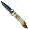 Piranha Desert Camo Mini Predator Auto Knife, CPM-S30V Black Blade