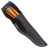 SOG Revolver 2.0 Hunt Fixed Blade Knife, Satin Mulit-blade, Black/Orange Handle