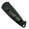 Piranha Fingerling Auto Knife, 154CM Black Blade