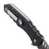 Ruger Follow-Through Flipper Knife, Stonewash Plain Blade