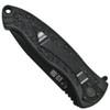 Smith & Wesson Large SWAT Spring Assist Knife, Black Handle, Black Combo Blade