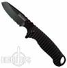 Elite Operator Spring Assist  Knife, Black Combo Blade
