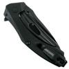 Kershaw BlackOut Mini Natrix Flipper Knife, Black Blade [Exclusive]