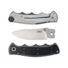 CRKT Monashee Field Strip Flipper Knife, Satin Blade