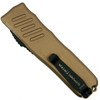 Guardian Tactical Tan RECON-035 OTF Auto Knife, Two Tone Blade