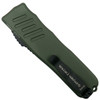 Guardian Tactical OD Green RECON-035 OTF Auto Knife, Black Blade