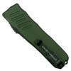 Guardian Tactical OD Green RECON-035 OTF Auto Knife, Dark Stonewash Blade