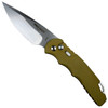 Pro-Tech Desert Sand TR-4 Auto Knife, Stonewash Blade