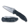 Spyderco Embassy Auto Knife, CPM-S35VN Stonewash Blade [Exclusive]
