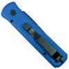 Pro-Tech Blue Godson Auto Knife, Black Blade