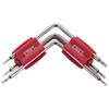 CRKT Twist & Fix Torx/Knife Repair Tool, Red Handles