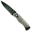 """Pro-Tech Custom """"We The People"""" TR-2 Steel Auto Knife, Damascus Blade Front Side"""