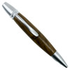 Loki Tool Walnut Ursa Minor Twist Pen, Satin Finish Front View