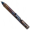 Boker Plus C.I.D. Cal .45 Titanium Tactical Pen, Flamed Finish FRONT VIEW