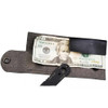 TOPS ALRT Mini Fixed Blade Knife, Black Blade WALLET VIEW