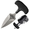 Cold Steel Safe Maker II Fixed Blade Neck Knife, Stonewash Blade REAR VIEW