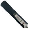 Microtech Dirac Dagger OTF Auto Knife, Black Blade Back