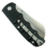 Boker Kalashnikov Cleaver Auto Knife, Satin Blade Back View