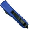 Microtech Purple UTX-85 Tanto OTF Auto Knife, Black Combo Blade Back