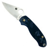 Spyderco Custom Frost Camo Para 3 Folder Knife, Bronze Hardware, Satin Blade