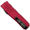Guardian Tactical Red RECON-035 Tanto OTF Auto Knife, Dark Stonewash Combo Blade Back