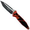 Microtech Orange Socom Elite Tanto Auto Knife, Black Blade